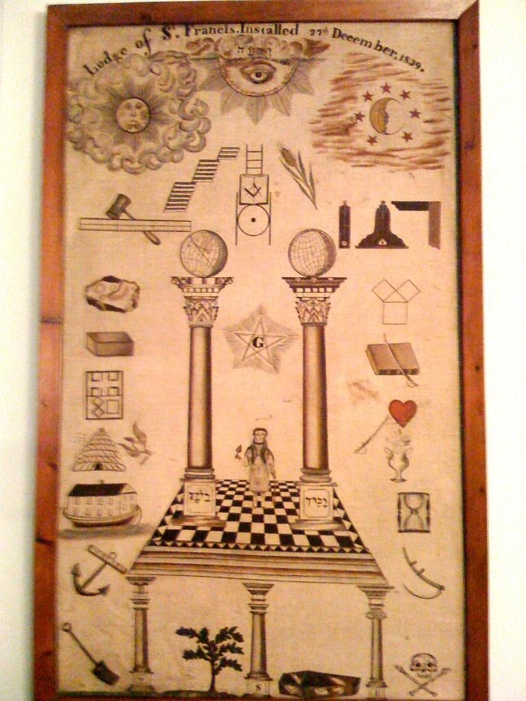 Trestle Board 1839