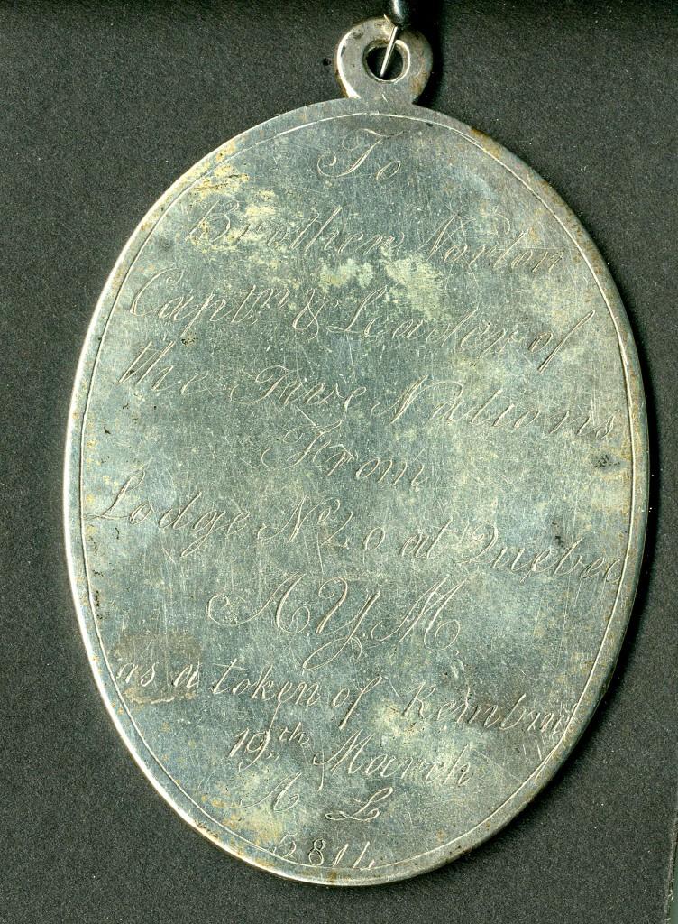 Silver Masonic Medal